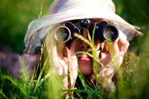 Explorer in the weeds