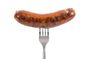 Sausage On A Fork