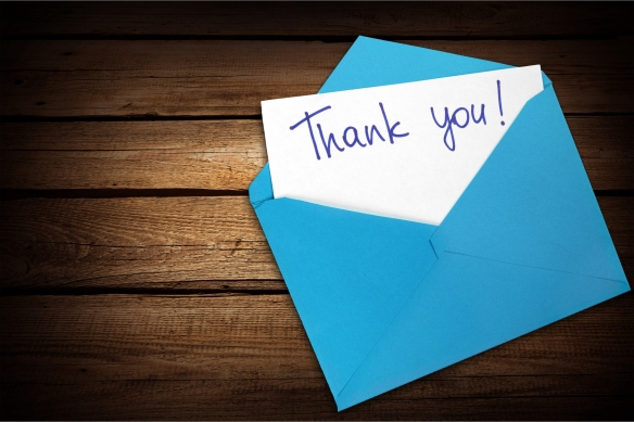 Card you envelope thank nobody copy paper