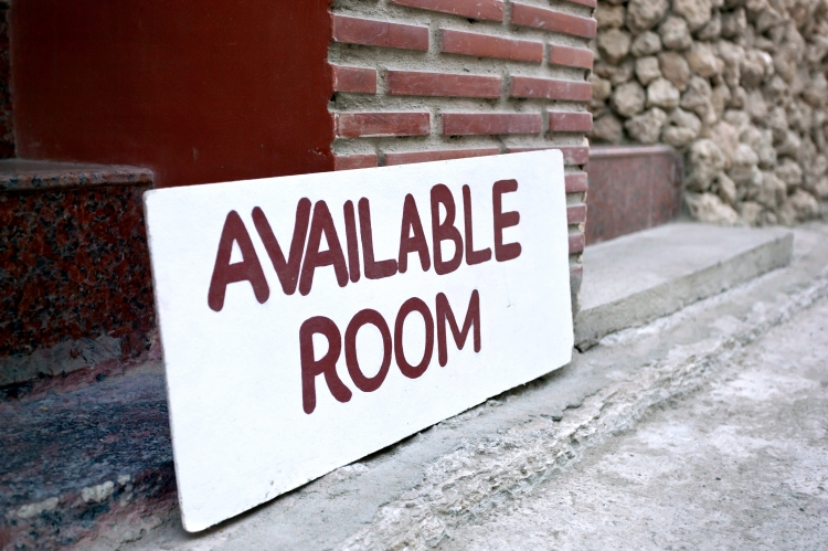 Available Room Sign On Board